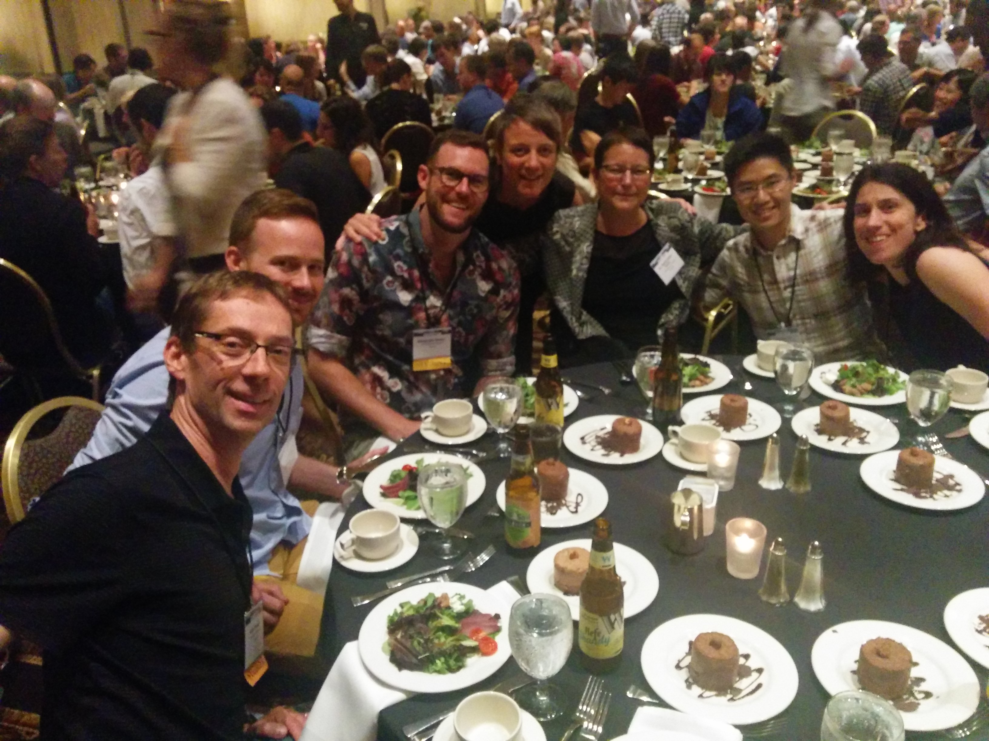 Fortin's Lab at IALE 2015 (Portland, Oregon)