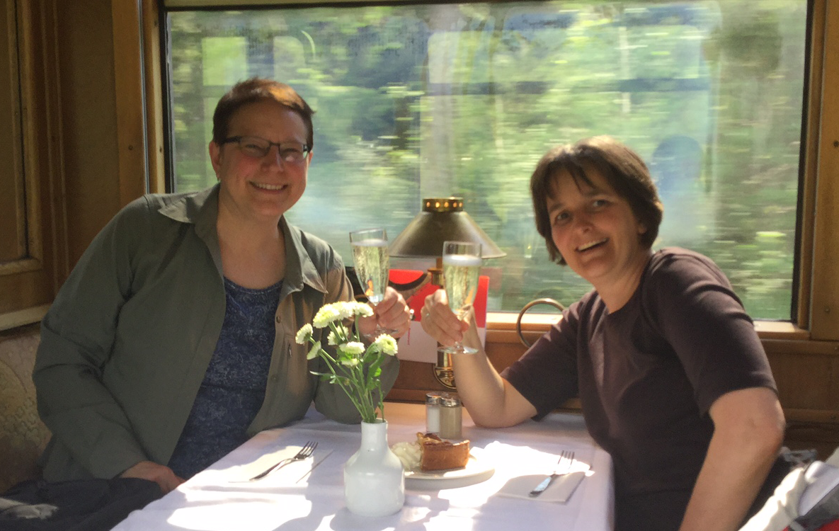 Helene Wanger and Marie-Josee Fortin - Switzerland - 2017